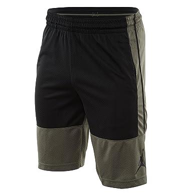 5dcd99a79cd452 Jordan Mens Rise Solid Basketball Shorts at Amazon Men s Clothing store