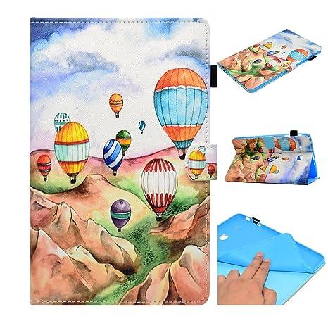 Tui Galaxy Tab E 96 Coque Ballon Color Motif De Protection Housse Ultra Mince Lger