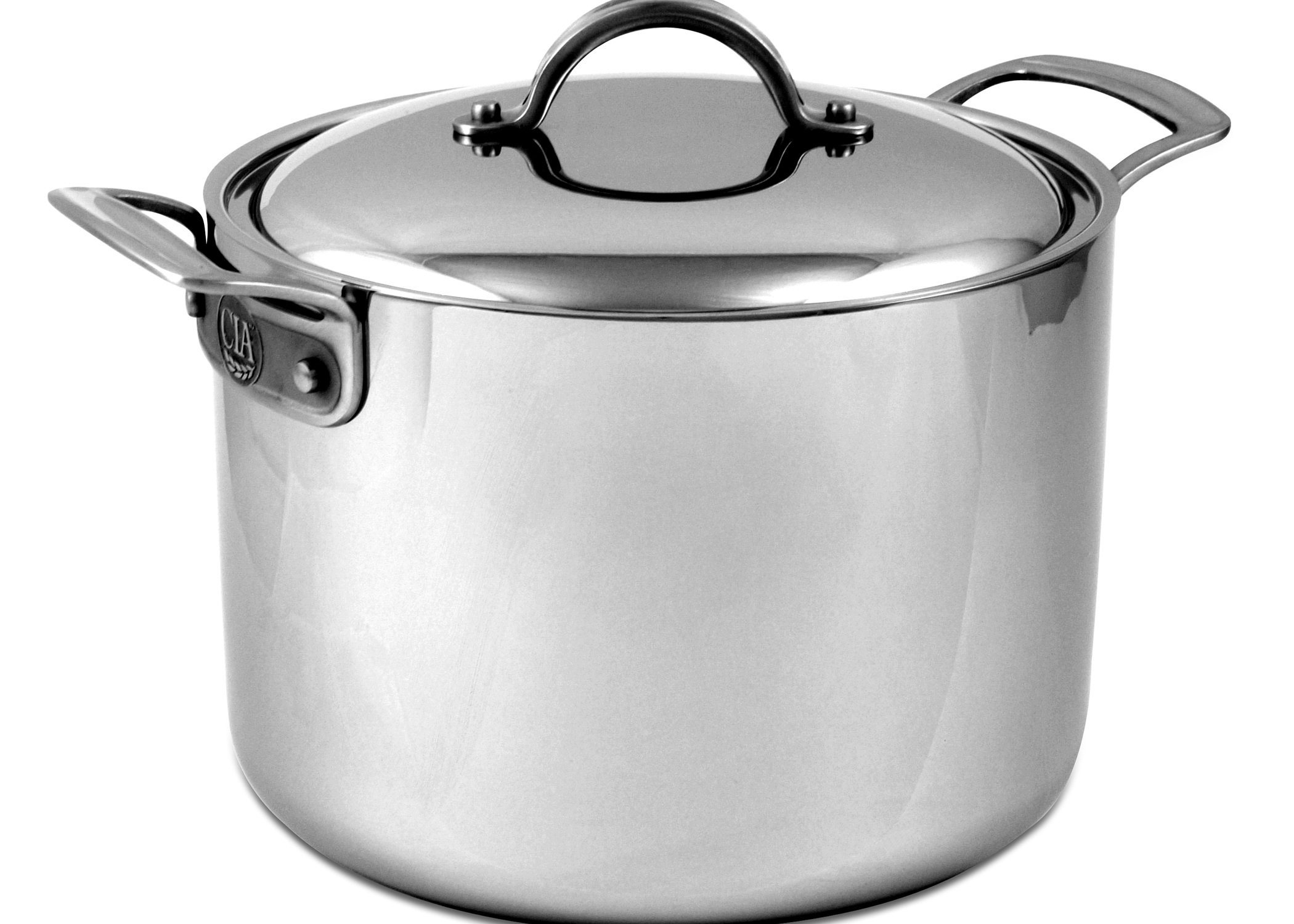 Culinary Institute of America Masters Collection 8-Quart Stock Pot with Cover by Culinary Institute of America