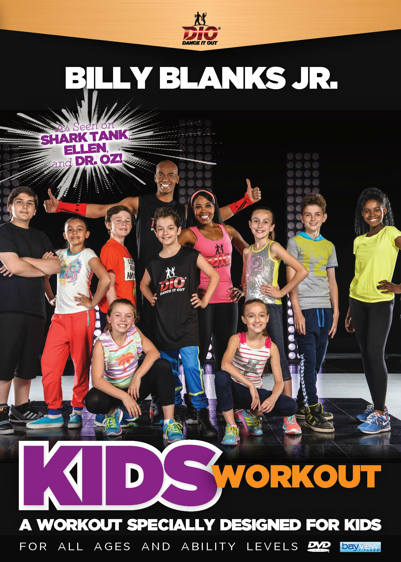 DVD : Dance It Out: Kids Workout (DVD)
