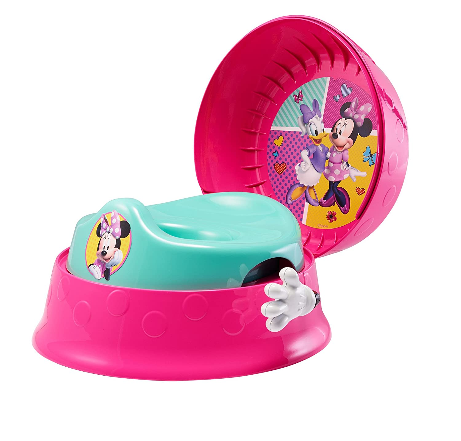 The First Years Disney 3-in-1 Potty System, Minnie Mouse TOMY Corp Y10871A1