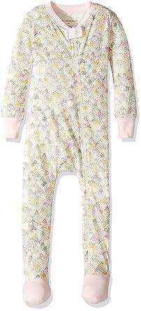 b9c373dfc Amazon.com  Burt s Bees Baby Baby Girls  Organic Print Zip Front Non ...