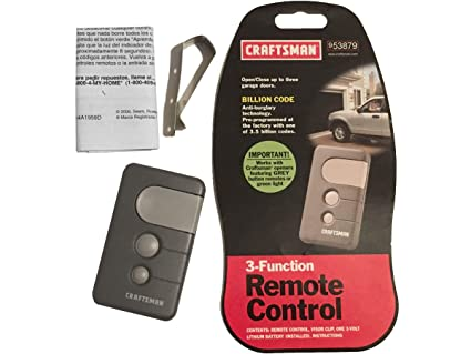 craftsman manual garage door opener