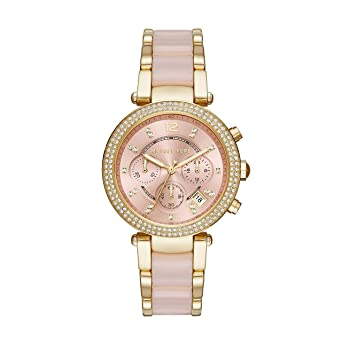 7a7e11c77 Amazon.com: Michael Kors Women's Parker Gold-Tone Watch MK6326: Watches
