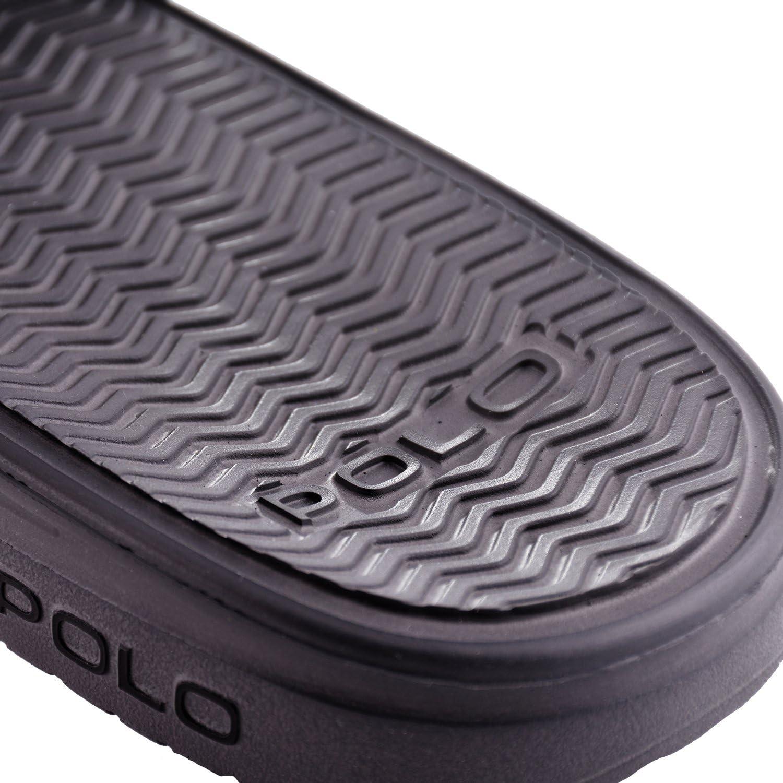 CHANCLAS POLO RALPH LAUREN - XZE44-GRE-T43: Amazon.es: Zapatos y ...