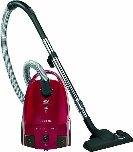 AEG Smart 485, 1800 W, 220-240 V, 50/60Hz, Rojo, 6000 g - Aspirador: Amazon.es: Hogar