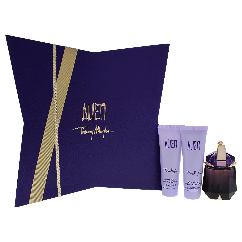 Amazoncom Thierry Mugler Alien Womens 3 Piece Gift Set Beauty
