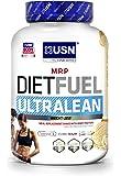 USN Diet Fuel Ultralean Weight Control Meal Replacement Shake Powder - 2 kg, Vanilla Cream
