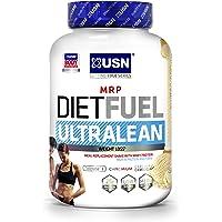USN Diet Fuel Ultralean Weight Control Meal Replacement Shake Powder, Vanilla Cream, 2 kg