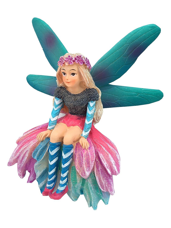 Katrina la fata da giardino - una fata in miniatura da aggiungere al tuo giardino delle fate e alle statuette in miniatura GlitZGlam