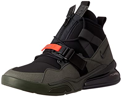 buy popular f3663 ac2b6 Nike Air Force 270 Utility Mens Aq0572-300 Black: Amazon.co ...