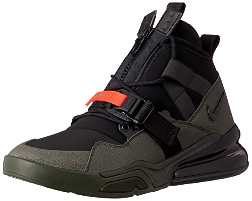 c14df6f2f8a9 Nike Air Force 270 Utility Mens Aq0572-300 Black  Amazon.co.uk ...