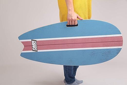 Skateboard da Interno tavola da Surf Trickboard Balance Board Surf Blue