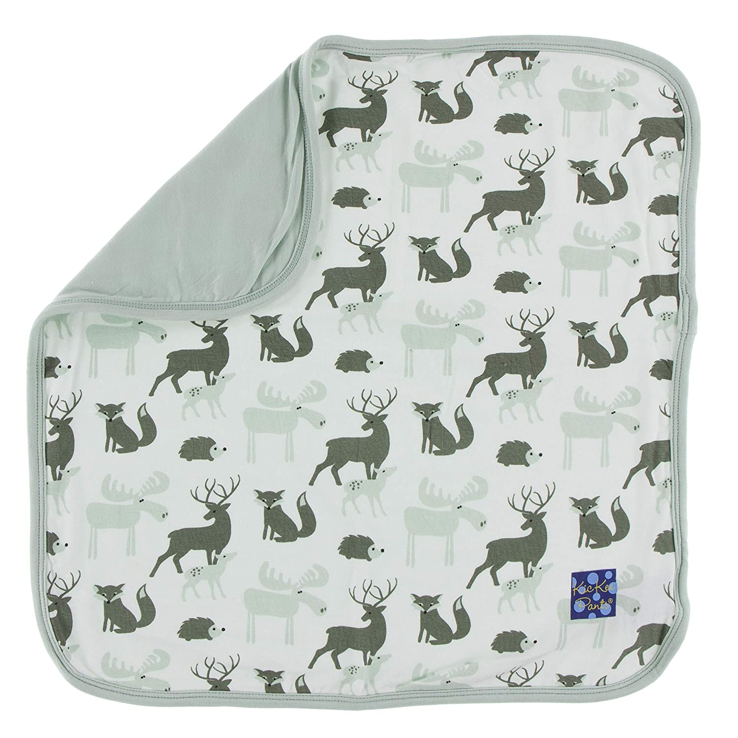 Natural Forest Animals - One Size KicKee Pants Print Lovey