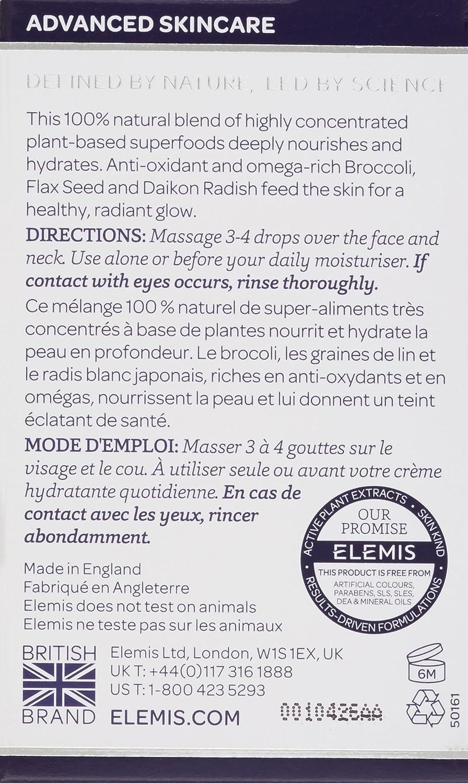 ELEMIS Superfood Facial Oil – Nourishing Face Oil, 0.5 fl. oz.