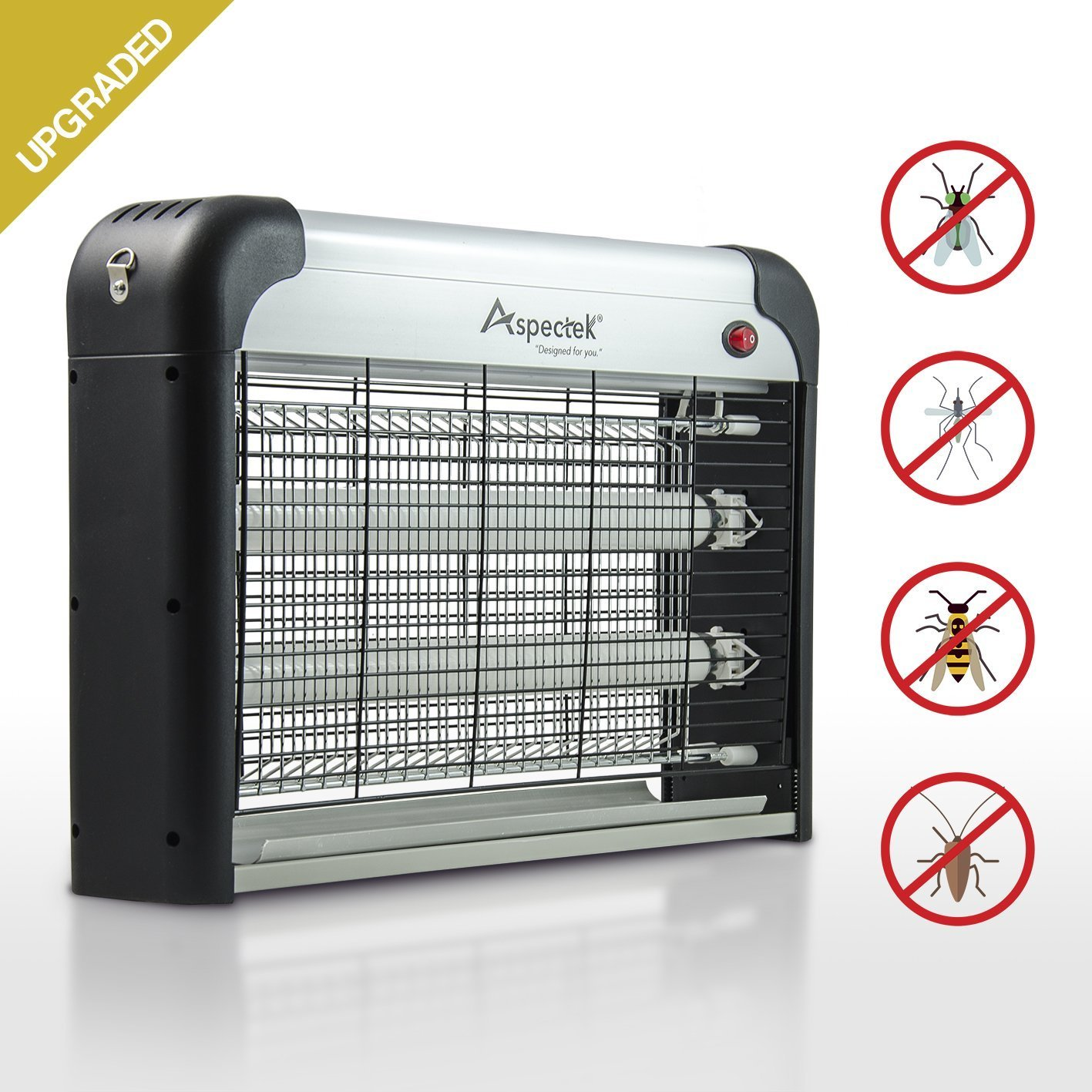 Aspectek 20W 6000sqft Coverage Electric Indoor Commercial Insect and Mosquito Killer