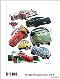 Disney Cars 2 - Decorazione Murale Adesiva 65x85cm