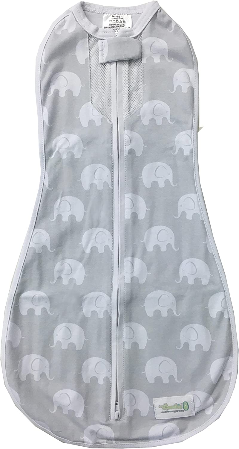 Woombie Air Baby Cocoon Swaddle-Mega Baby 6 Months+-Misty Jungle
