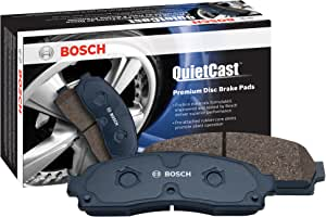 Bosch BC898 QuietCast Premium Ceramic Disc Brake Pad Set For 2002-2005 Dodge Ram 1500; Rear