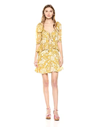 e5f6be81e1f6 Amazon.com  For Love   Lemons Women s Cosmo Mini Dress  Clothing