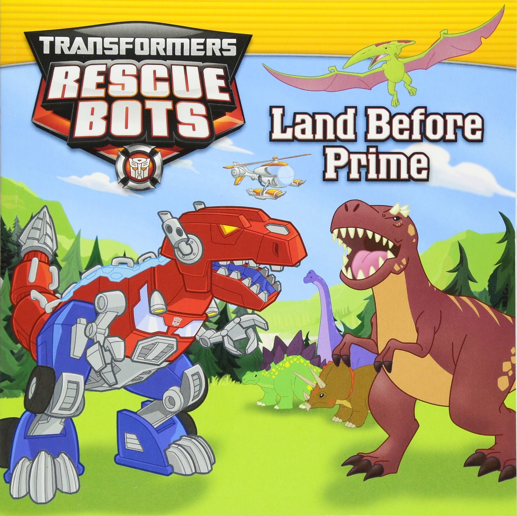 Transformers Rescue Bots Before Prime