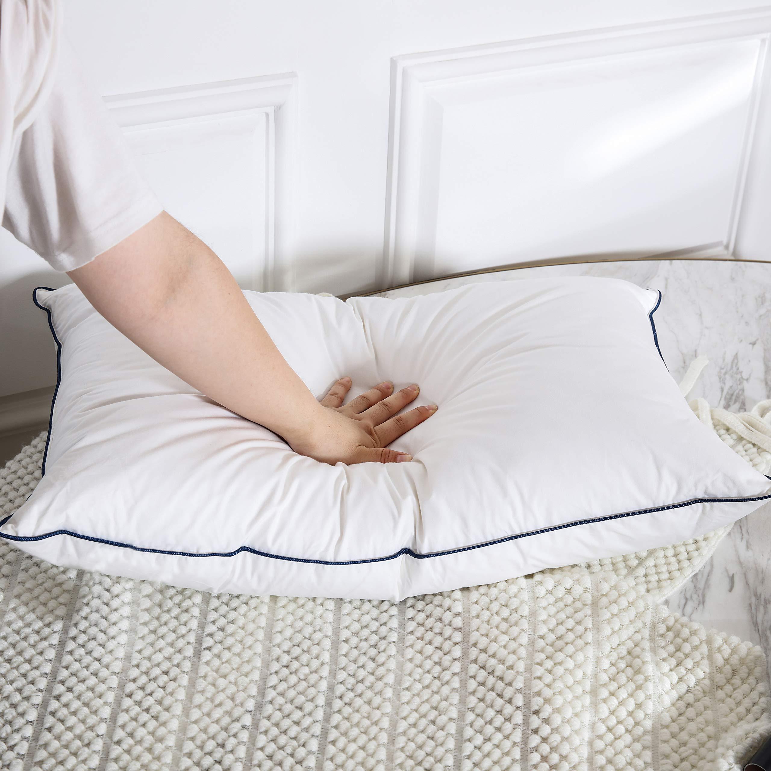 Doriness Goose Down Pillows For Sleeping Set Of 2 Queen