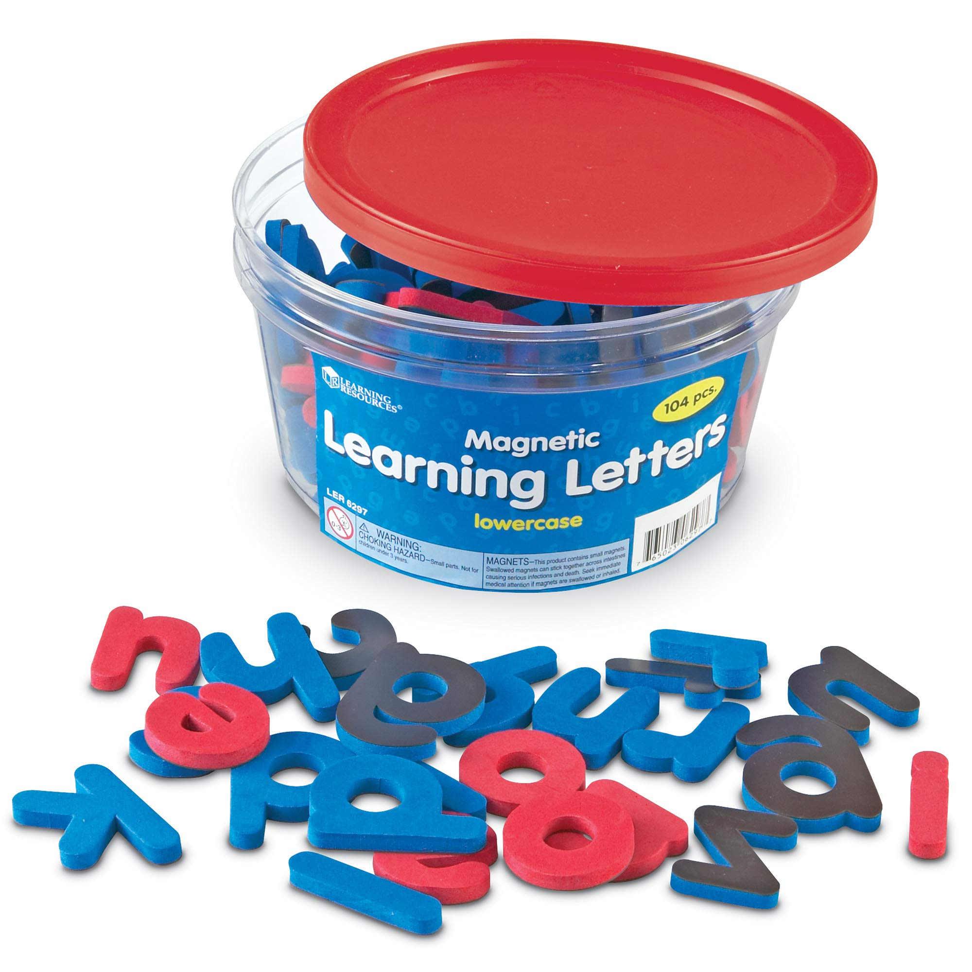 Learning Resources Magnetic Learning Letters - Lowercase, Stick to Fridge, Ages 3+ by Learning Resources
