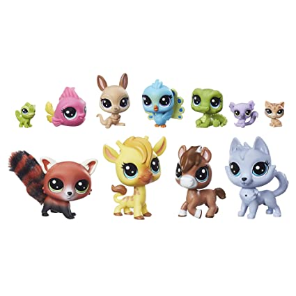 amazon littlest pet shop a colorful bunch おもちゃ おもちゃ