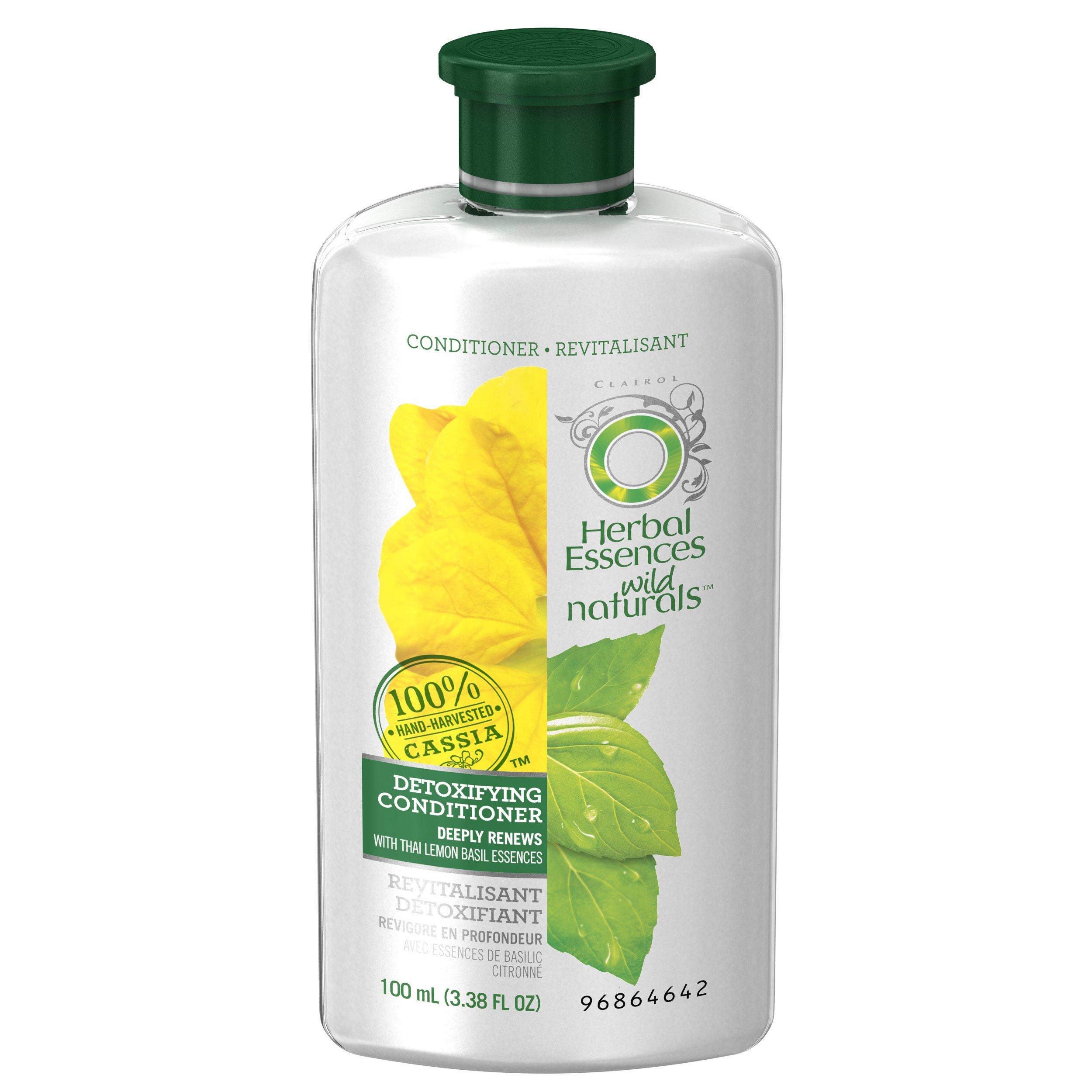 Herbal Essences Wild Naturals Detoxifying Conditioner, 3.38 FL OZ by Herbal Essences (Image #2)
