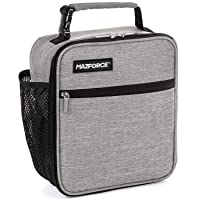 MAZFORCE Original Lunch Box Insulated Lunch Bag - Tough & Spacious Adult Lunchbox...