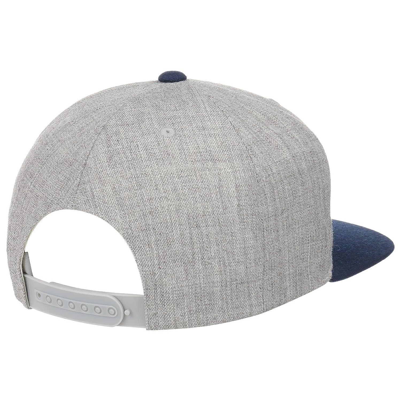 pretty nice 621f2 6f5e3 Harold Twotone Snapback Cap Brixton cap base cap (One Size - grey)   Amazon.co.uk  Clothing