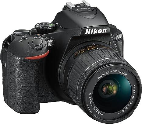 Nikon D5600 + AF-P DX 18-55mm VR + 8GB SD Juego de cámara ...