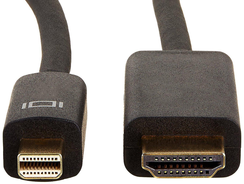 Mini-DisplayPort auf HDMI 3 m Basics Verbindungskabel