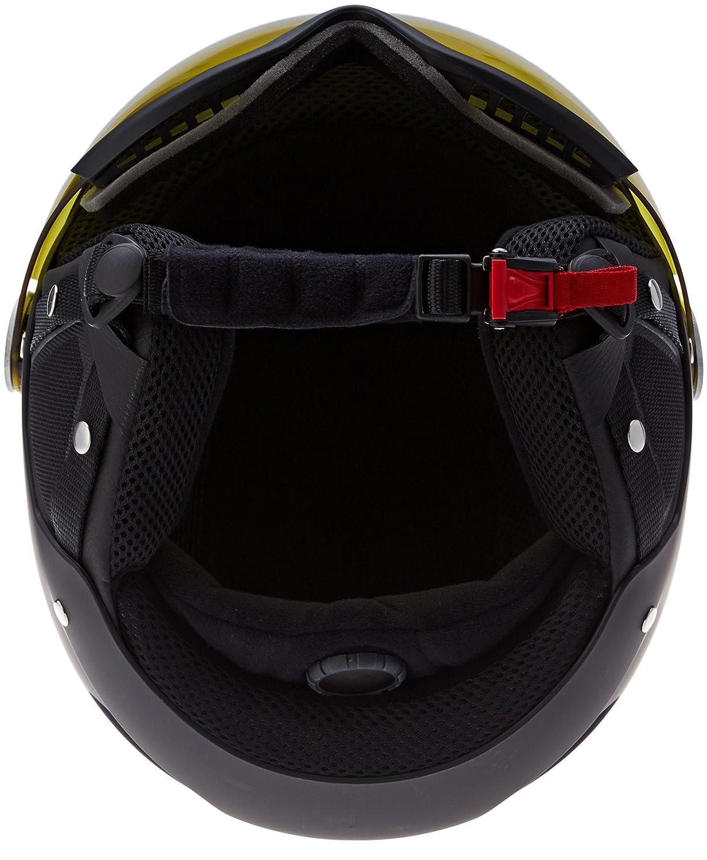 ef1450fd0ab Amazon.com  Bolle Blackline Visor Ski Helmet - Soft Black   Silver  Sports    Outdoors