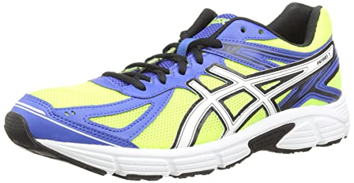 Asics Patriot 7, Men's Training Running Shoes, Yellow (Flash Yellow/White/