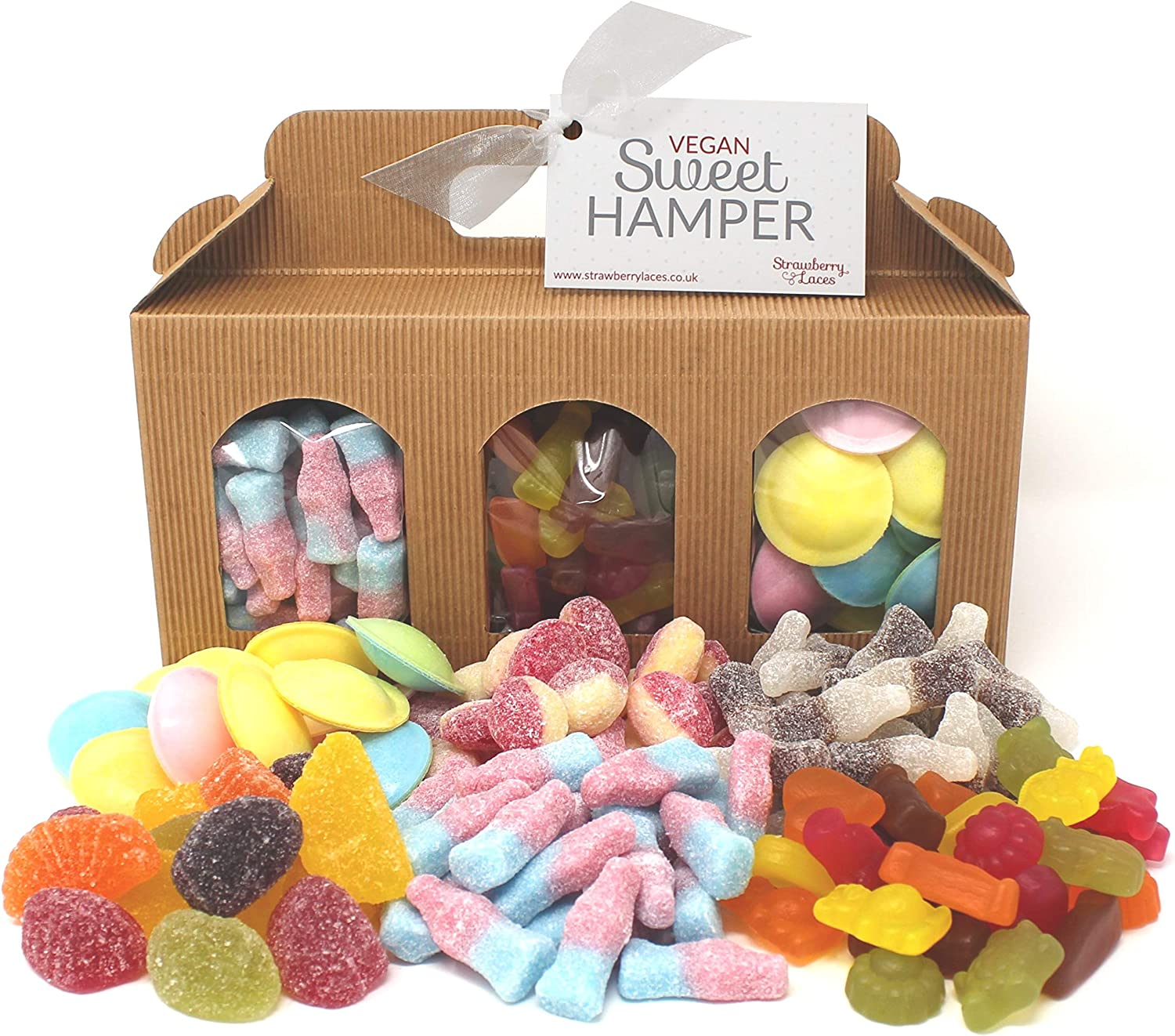 Vegan Sweet Hamper Box – Great Vegan & Vegetarian Gift