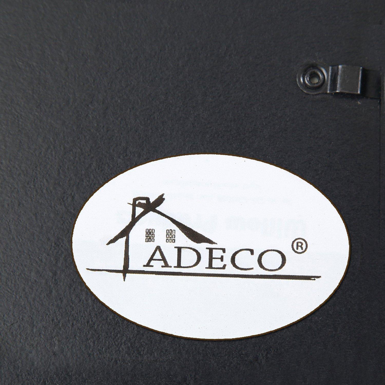 amazoncom adeco 9 opening black wood wall hanging photo frame 4 by 6