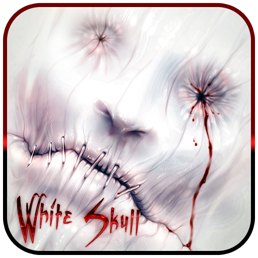 White Skull Theme & Wallpaper (Mobile Micromax)