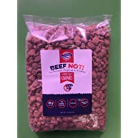 Dixie Carb Counter's Textured Vegan Protein - Perfect and Tasty Soy Based Meat Substitute For Vegans And Vegetarians - Chunk Beef (Not!) - 9 Serving Bag