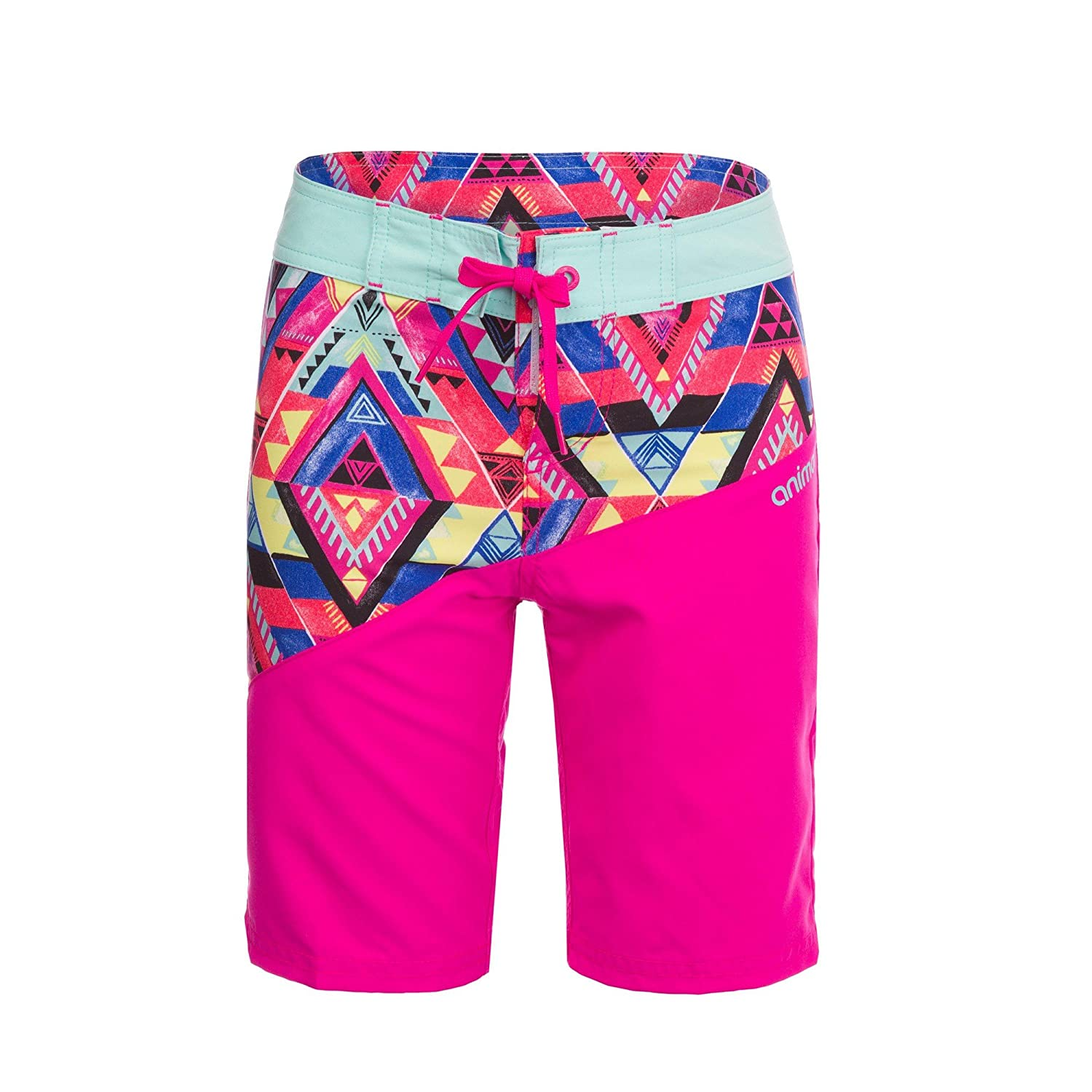 Animal Childrens Girls Angled Boardshorts UTAN999_4