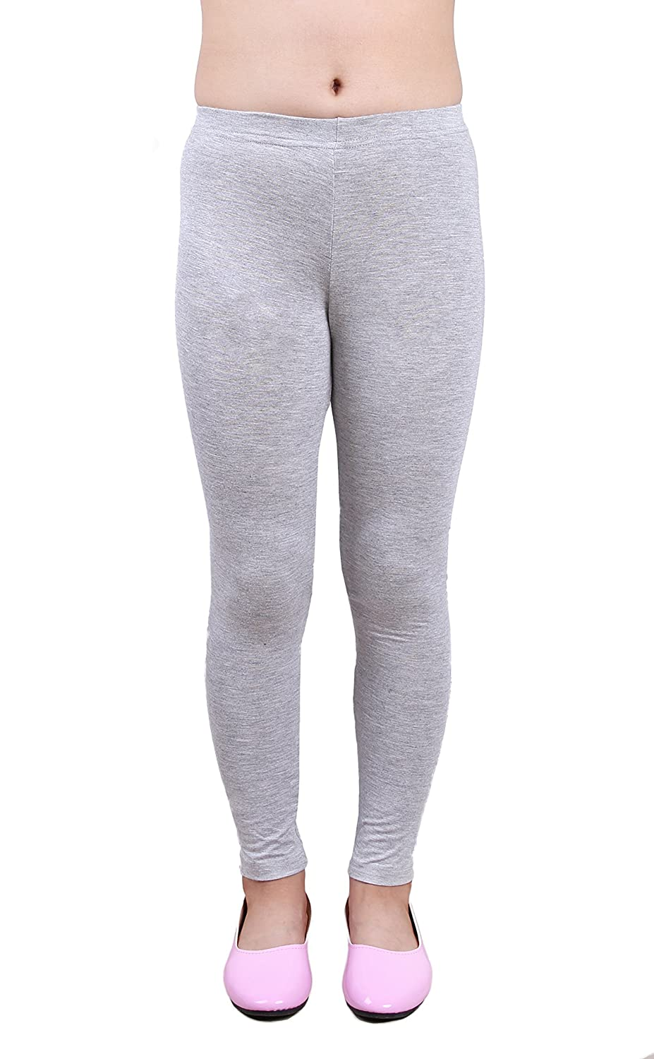 IRELIA Girls Modal Solid Active Leggings for Spring/Fall