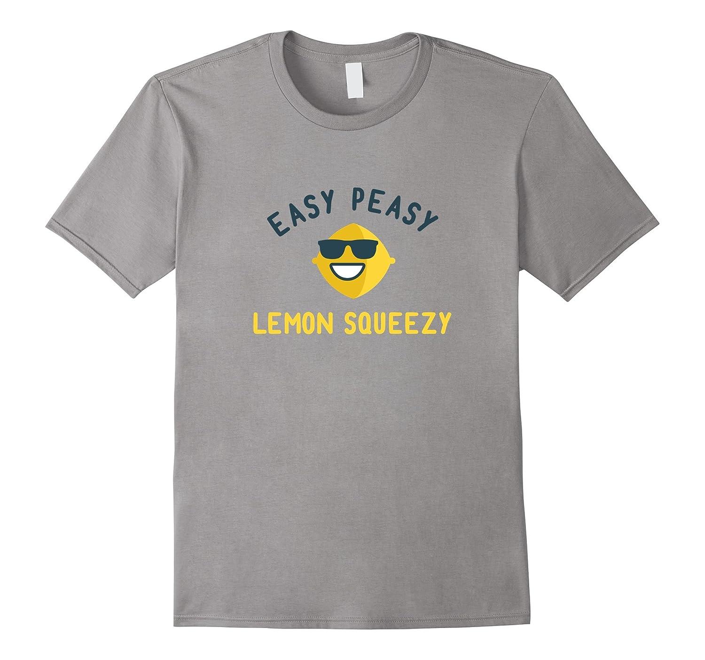 Funny Saying Shirts for Guys Lemon Emoji Sunglasses Summer-TH