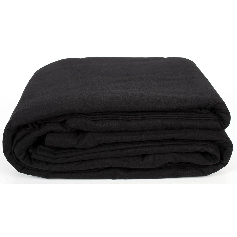 tiendas minoristas Cortina de escenario 5m negro negro negro 300cm ancho, B-1, DIN 4102  Nuevos productos de artículos novedosos.