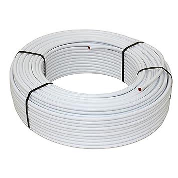 Metallverbundrohr Aluverbundrohr Heizrohr 16 x 2 mm 50-200 m Fußbodenheizung