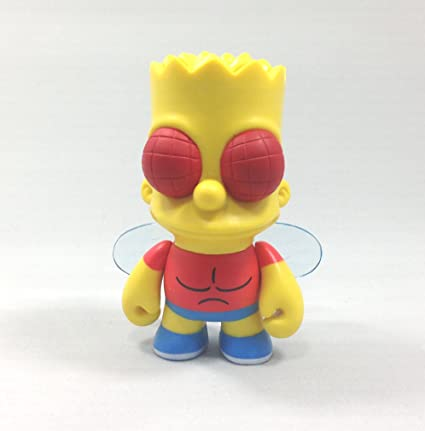 Kidrobot The Simpsons Treehouse of Horror THOH Vinly Figure Bart Flies