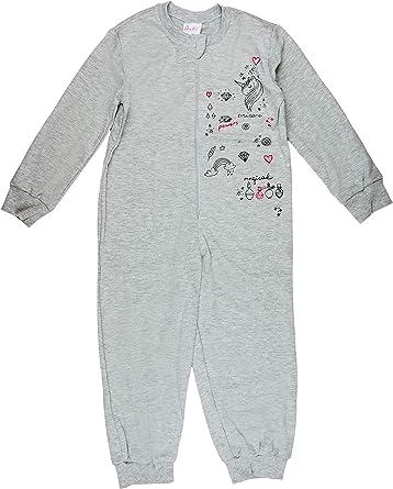 Pijama de Unicornio para niña, con diseño de Unicornio, Talla 110 ...