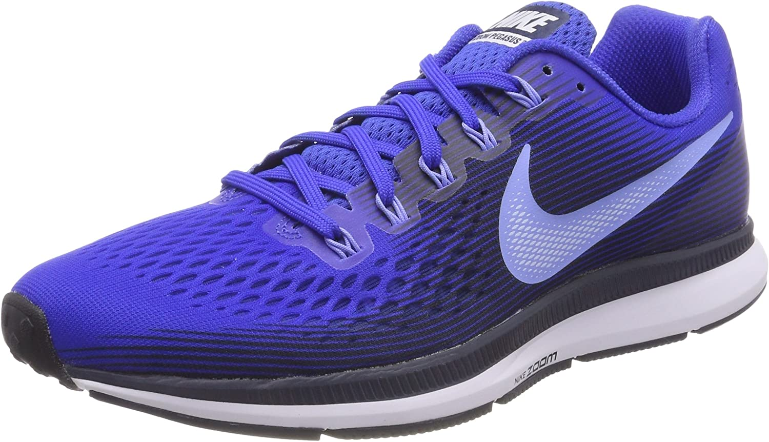 Nike Air Zoom Pegasus 34 Sz 11 Mens Running Hyper Royal Royal Pulse-Obsidian Shoes