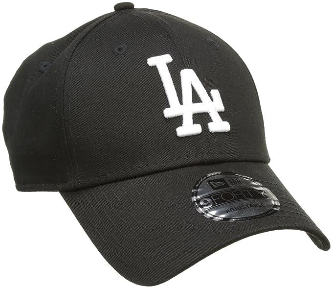 A NEW ERA Era League Essential Losdod Blkwhi940, Gorra de béisbol Unisex Adulto, Negro (Black), One Size (Tamaño del Fabricante:OSFA)
