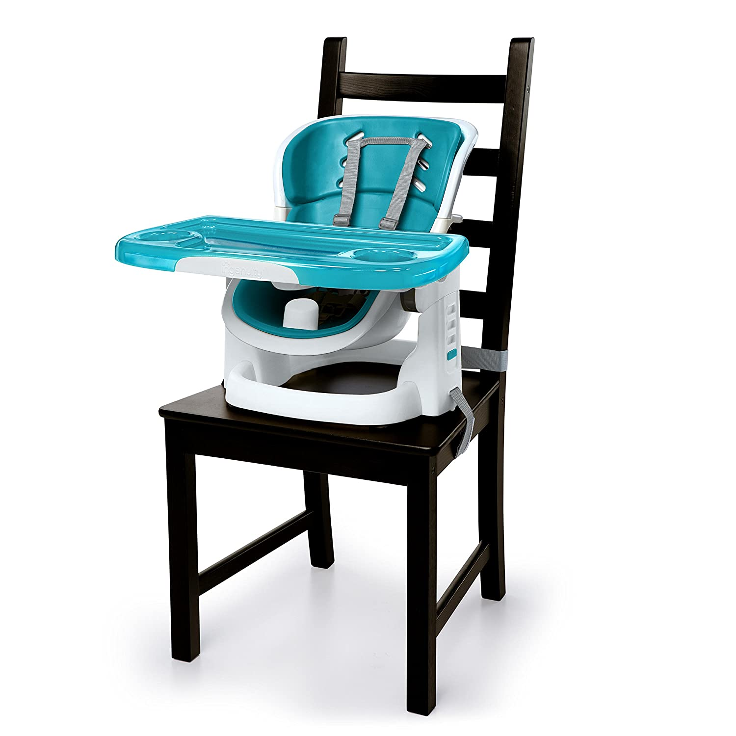 Ingenuity SmartClean ChairMate High Chair, Peacock Blue 10941-1-NU