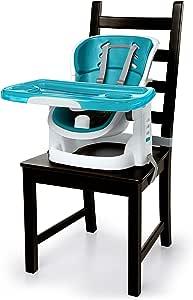Ingenuity Smartclean Chairmate High Chair - Peacock Blue, Blue, 5080 Gram